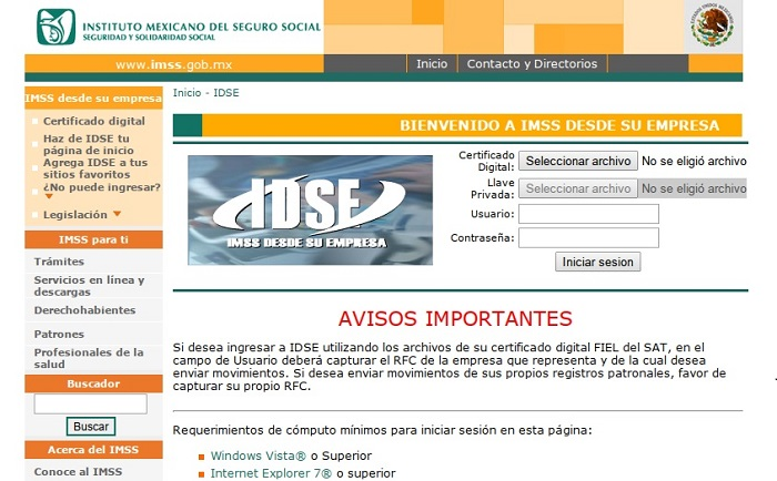 IDSE-IMSS