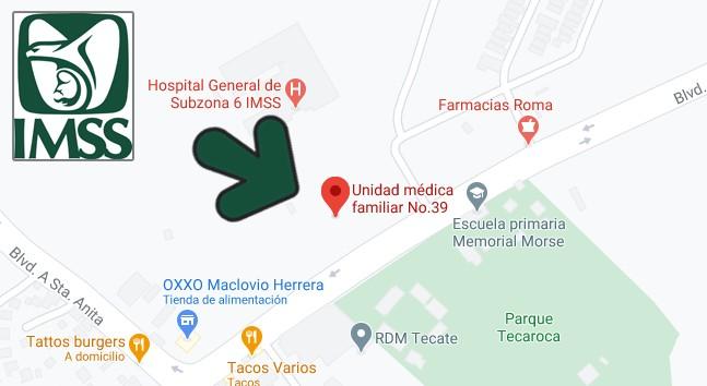 IMSS UMF 39 Baja California